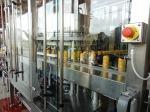 Die Dosenabfüllanlage im Betrieb
